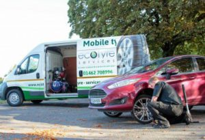 mobile tyre fitting by ecotyre services